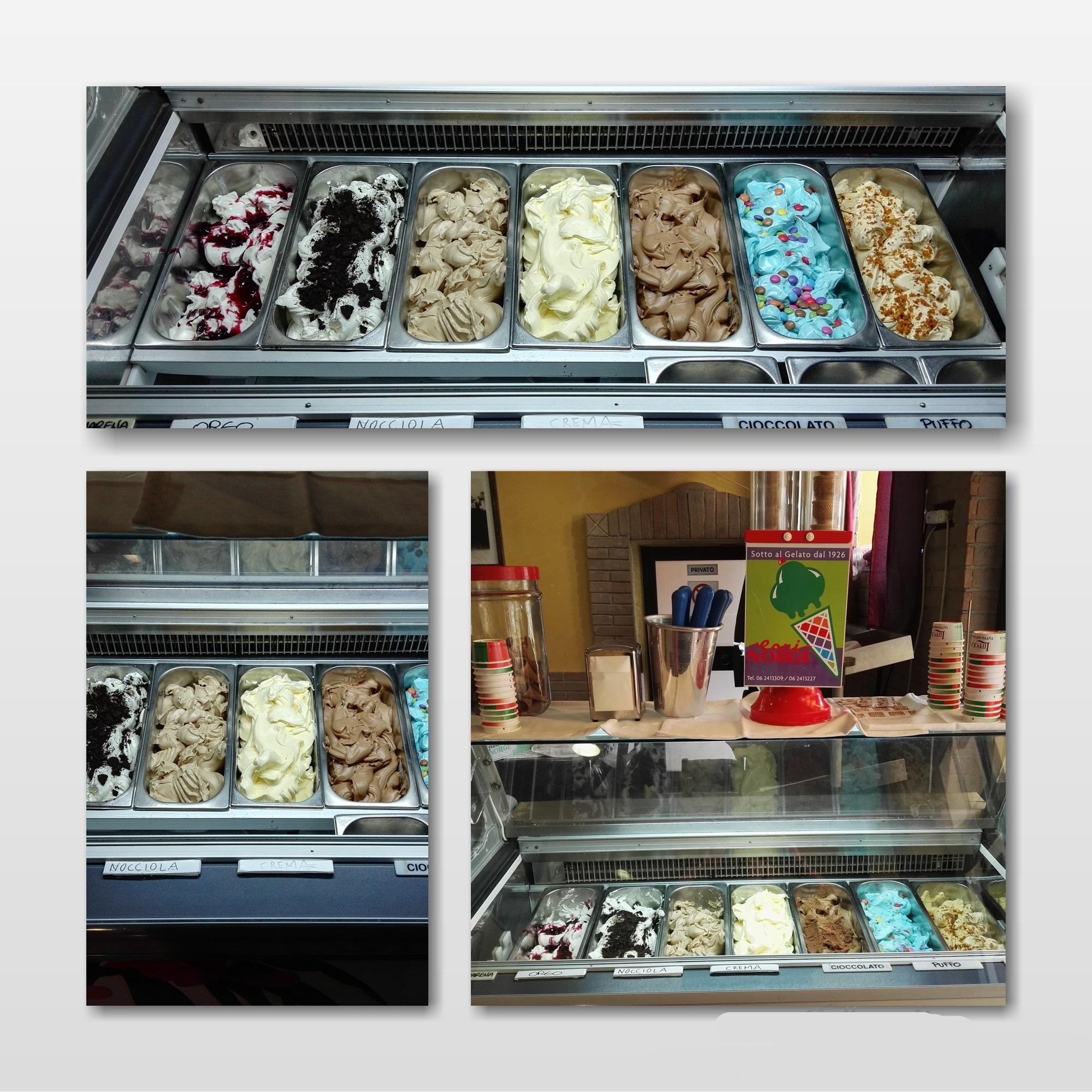 gelati collage